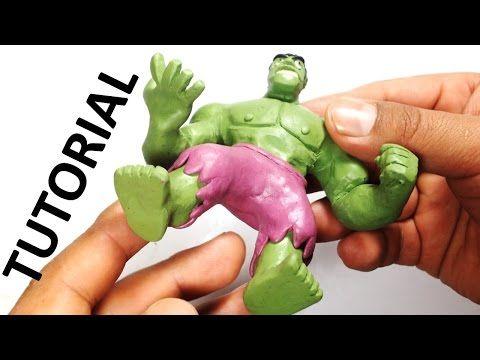 Como hacer a Iron man de plastilina de disney infinity / How to make Iron man with plasticine. - YouTube