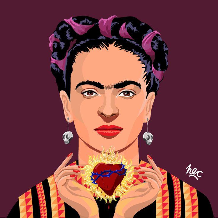 Frida by Hugo Cataldo