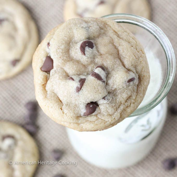 American Heritage Cooking My Favorite Chewy Chocolate Chip Cookies Http Americanheritagecooking