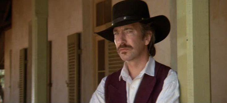 Alan Rickman as Elliot Marston in Quigley Down Under