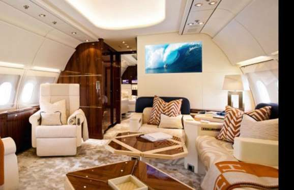 Boeing 767-33A/ER Private Jet: $170 million (£117m): Highly-polished wood, creamy upholstery a... - Boeing