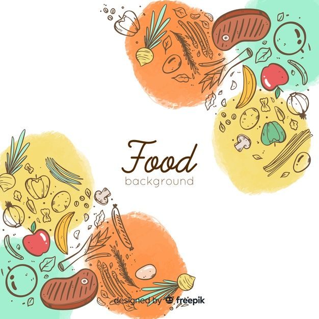 Download Doodle Food Background For Free Ideias Vetores