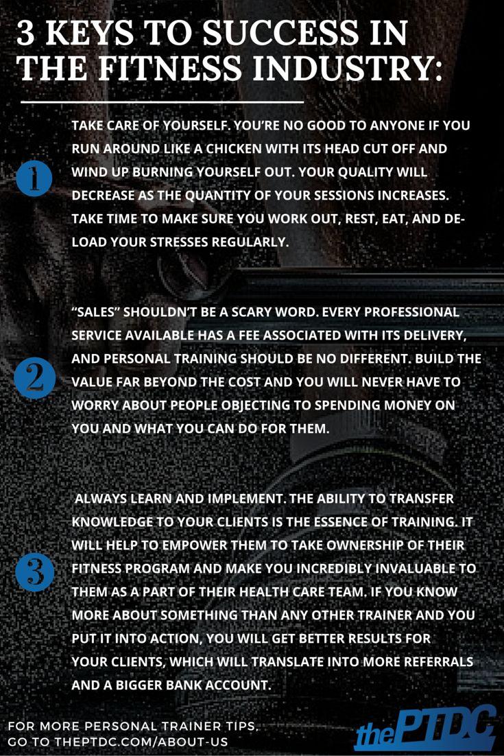 Personal training studio business plan