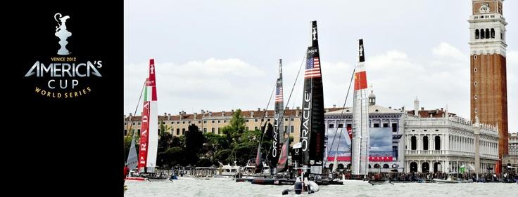 Copertina FB in onore dell'America's Cup World Series a Venezia