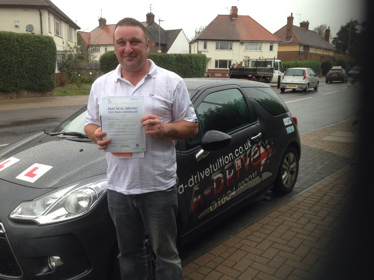"A huge congratulations to Paul Tibbles who passed his practical driving test 1st time 24/10/14 with only 2 minor driving faults at Northampton Driving Test Centre with the expert tuition of Andy McIntosh of www.adrivetuition.co.uk  #Driving #Adrive #DrivingTest #DrivingSchools #DrivingLessons #DrivingInstructors #Northampton #Daventry #Towcester #Wellingborough #Northants  Paul said ""Thanks for the training Andy. I could not have done it without your guidance"""