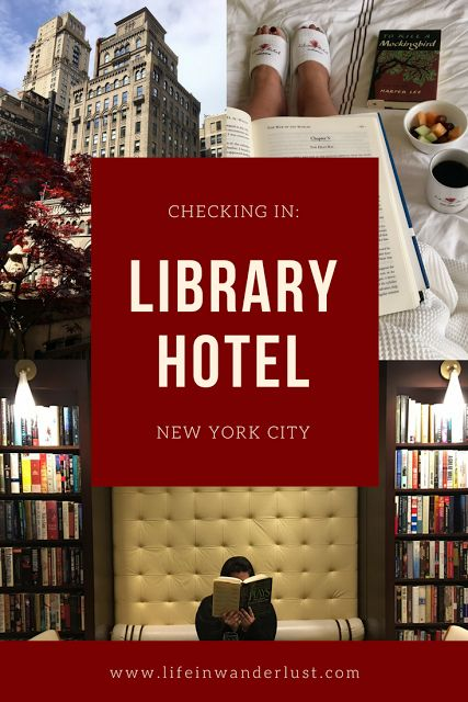 Looking for hotels in Manhattan? Checking In: Library Hotel in New York City, New York