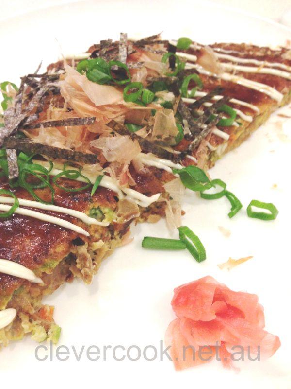 Todays version of Okonomiyaki