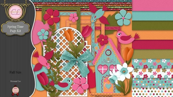 CLGraphics Spring Time Page Kit