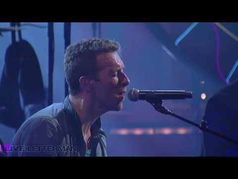 """Cold Play Fix you, Letterman Sept 11, 2011 Love this song!   love the part Chris Martin asks the question """"everybody okay?"""""""
