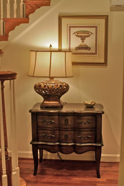 Small Foyer Table Chest : Best images about small entrance hall ideas on