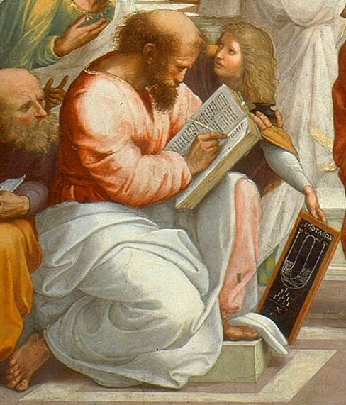 Pythagoras with tablet of ratios - Mathematics and art - Wikipedia, the free encyclopedia