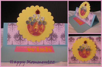 Fancy Fold cards HappyMomentzz crafting by Sharada Dilip