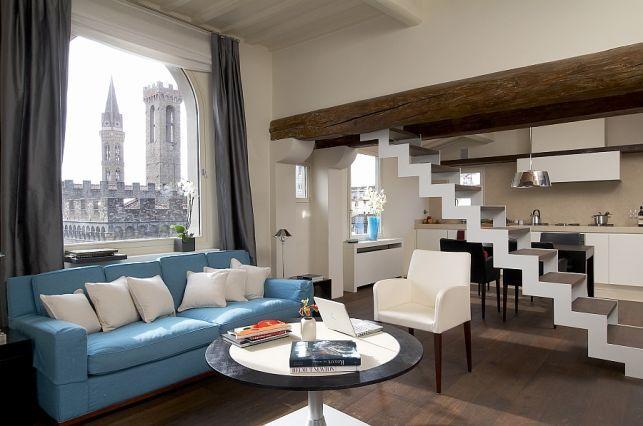 Transformarea unui far antic intr-un apartament modern- Inspiratie in amenajarea casei - www.povesteacasei.ro