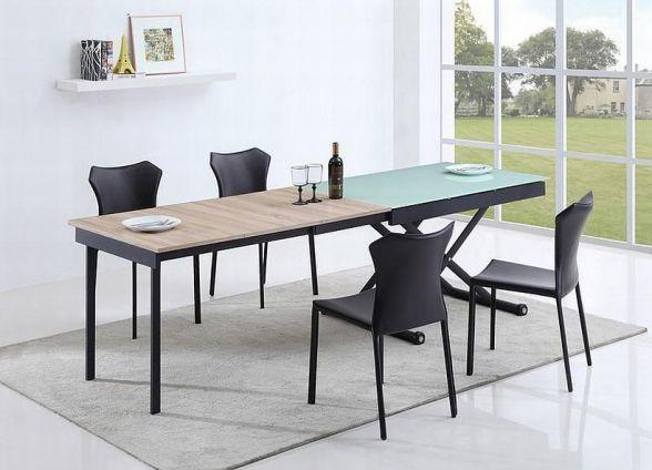 MAESTRO to fantastyczny stół rozkładany jakiego jeszcze Państwo nie widzieli. Jest to najbardziej nowatorska i niesłychanie nowoczesna propozycja dla właścicieli współcześnie urządzonych mieszkań.