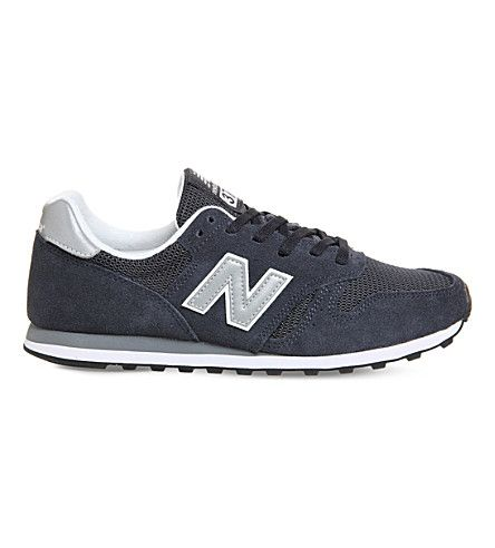NEW BALANCE M373 suede and mesh sneakers. #newbalance #shoes #