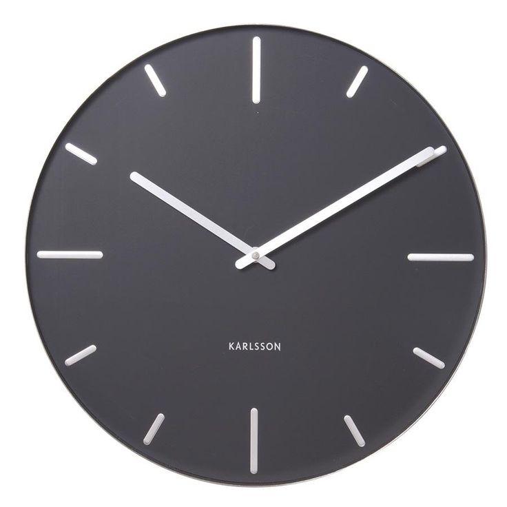Karlsson Wall Clock Belt - Black