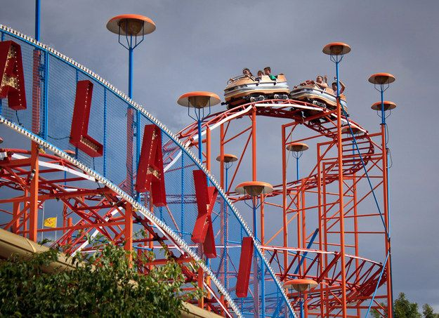 Cliff's Amusement Park | 26 Underrated Amusement Parks To Visit Before You Die