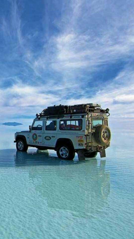 Land Rover | A day at the beach | Defender