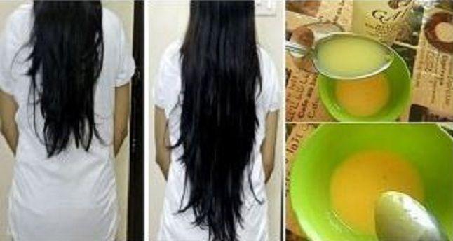 Bálsamo capilar de huevo para estimular el crecimiento, dar más fuerza y brillo a toda la cabellera | Interés Viral