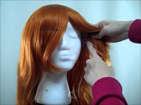 Wig Styling Tutorial: How to Cut Bangs