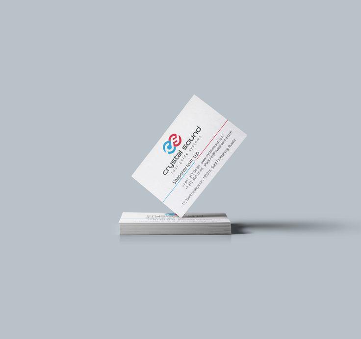Визитные карточки Crystal Sound