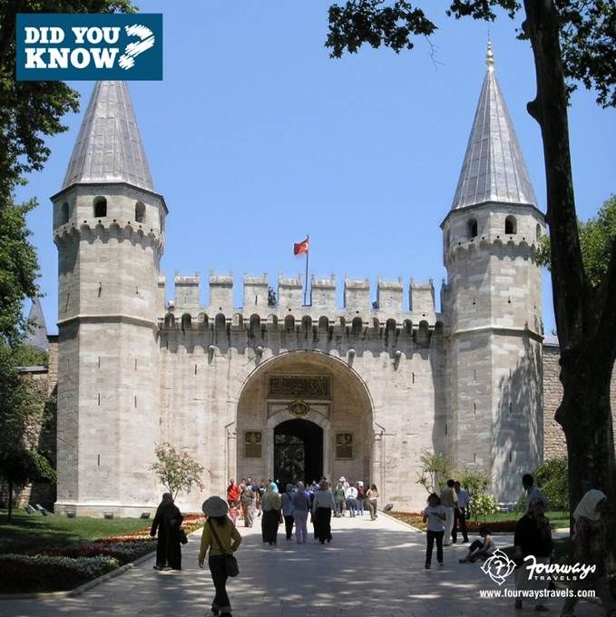 #DidYouKnow :The Topkapi Palace in #Turkey was formerly a residence of Turkish sultans for over 300 years #LearnMore Repin