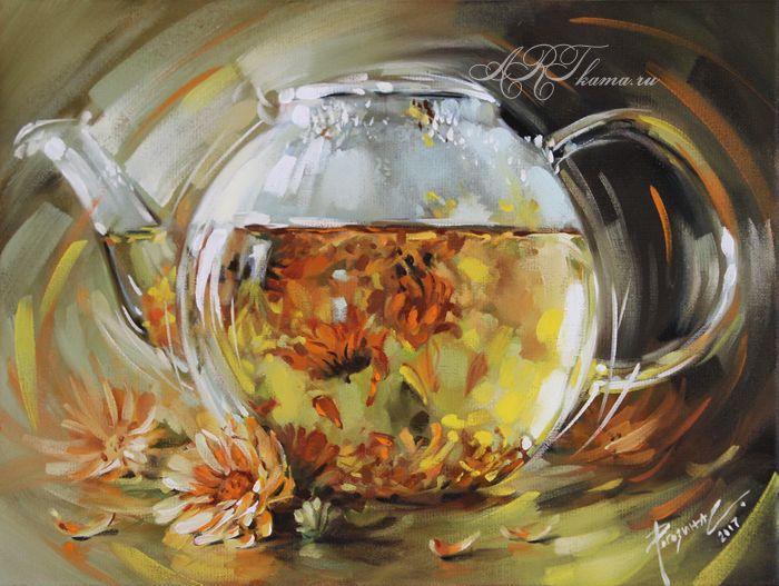 Календуловый чай