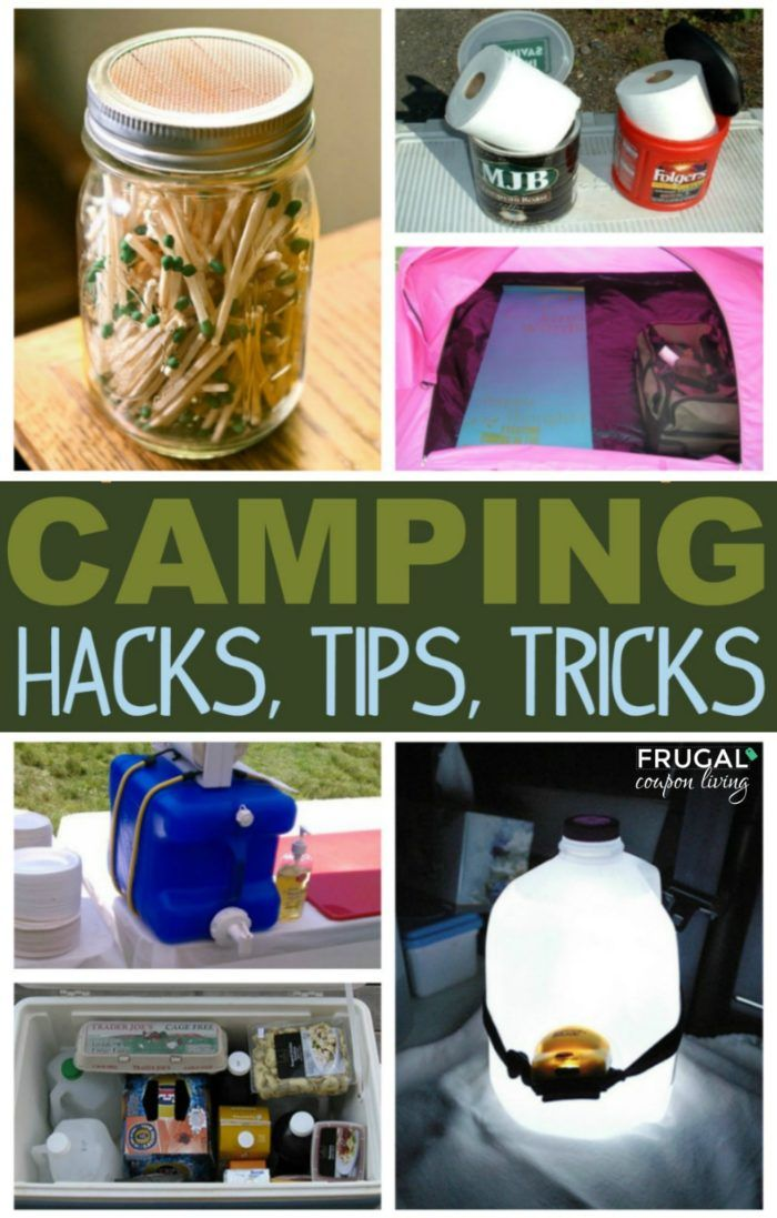 Tenting Hacks and Suggestions