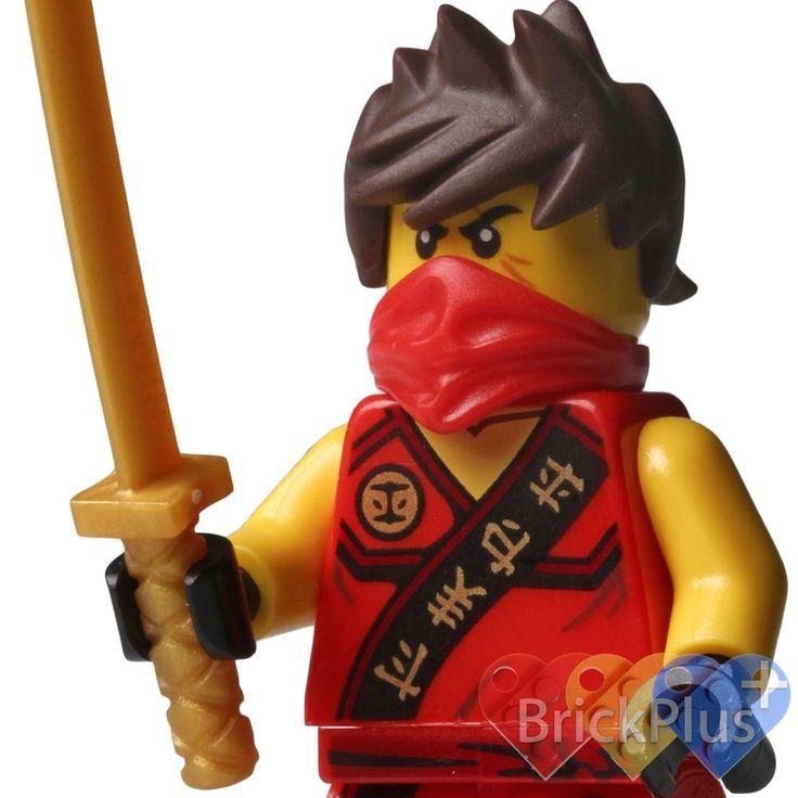 LEGO Ninjago Kai w/ Golden Katana (Weapon) from set 70752 Jungle Trap 2015 NEW #LEGO