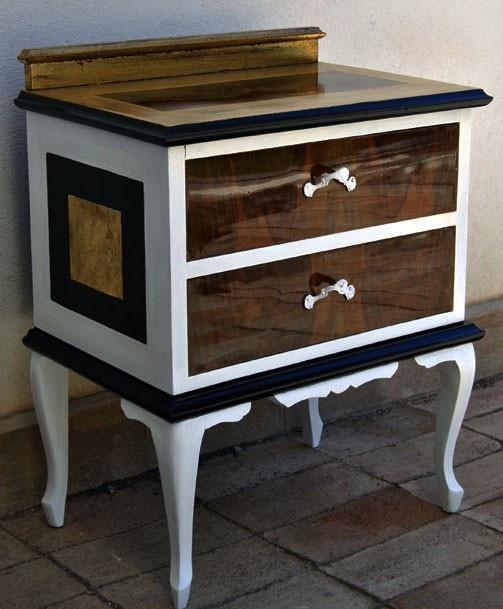 22 best images about restaurar tauletes de nit on - Restaurar muebles vintage ...