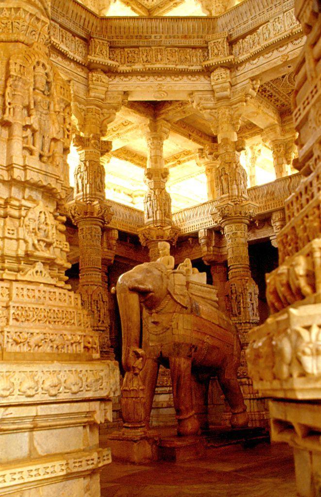 ranakpur (templo d'Adinath) Rajasthan India Nueva Delhi