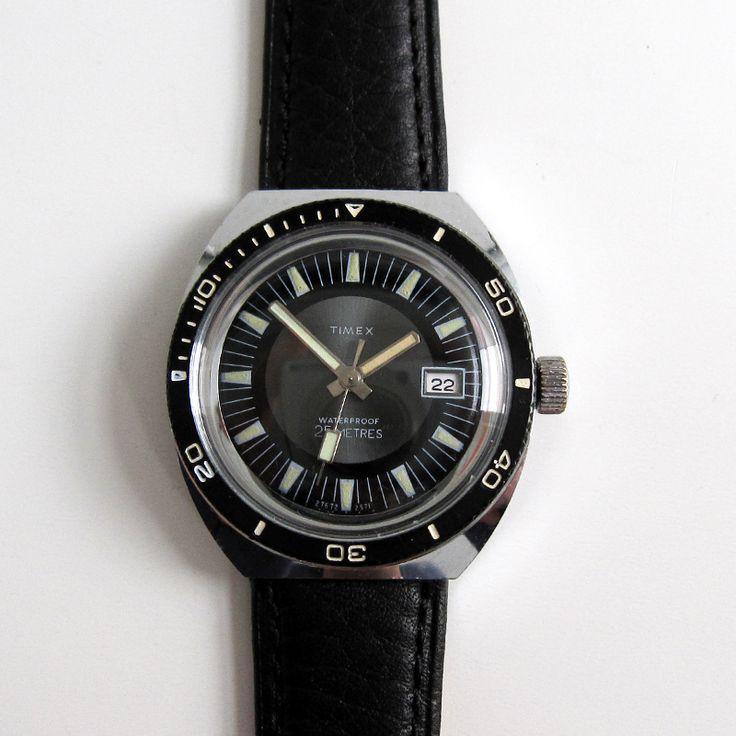 Timex Marlin Calendar 1971