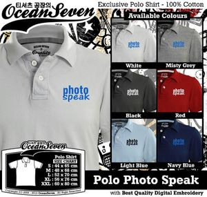 Kaos Polo Photo Speak - PIN BB: 26460DF6