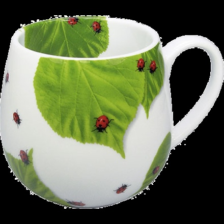 Ladybug Tea Mug, how cute!