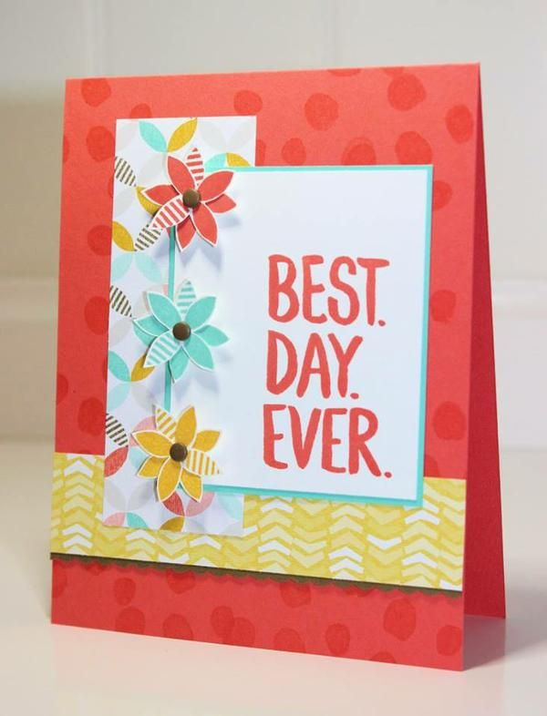 Stampin' Up! Best Day Ever, Sale-A-Bration 2015