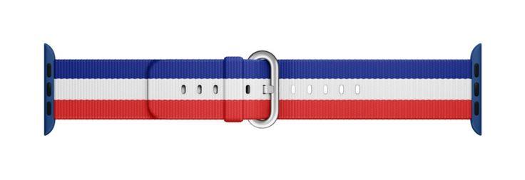 Jeux olympiques : Apple va vendre des bracelets pour Apple Watch avec les drapeaux des pays