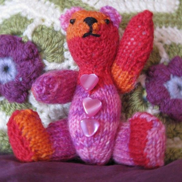 Harriet is quite possibly the most cheerful miniature bear in the land!