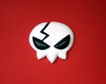 Yoko Littner Cosplay Skull Hair Pin