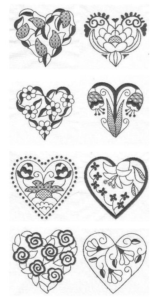 Сердечки, валентинки и прочие картинки к дню святого Валентина. | Украсим мир своими руками