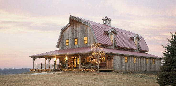 1000 images about post and beam and straw bale on for Gambrel barn homes kits