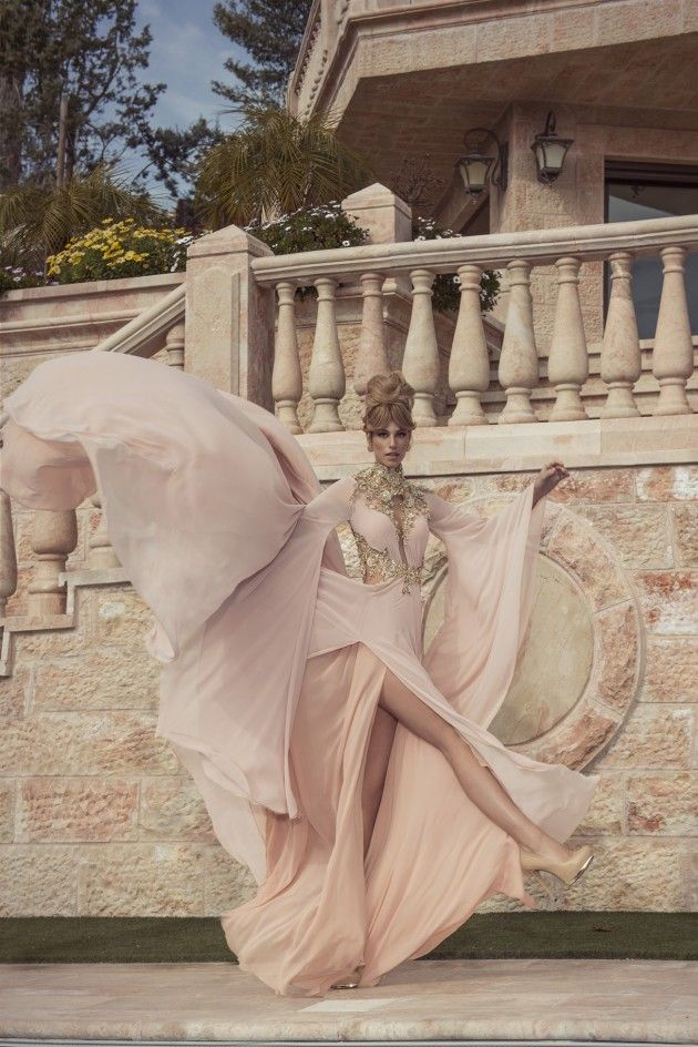 Gown by Oved Cohen