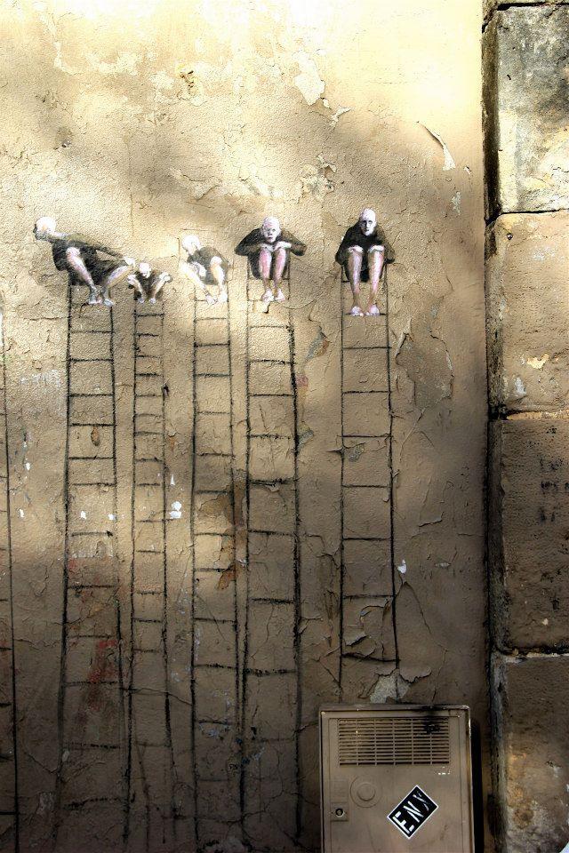 Street art   Mural by Philippe Hérard