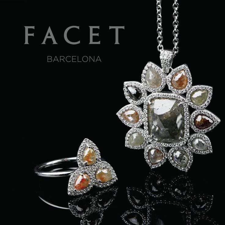 One of a kind natural diamonds from Facet Barcelona