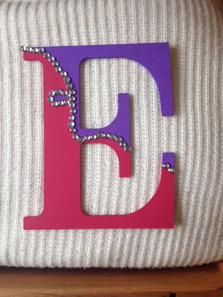 17 Best Images About Wooden Decorated Letters On Pinterest