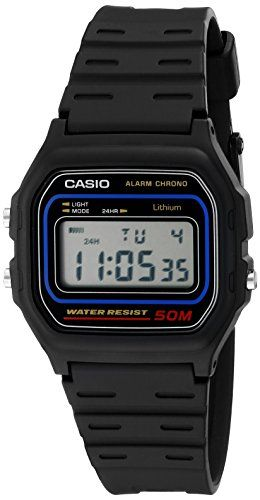Casio Mens W591V Classic Black Digital Watch *** Read more  at the image link.