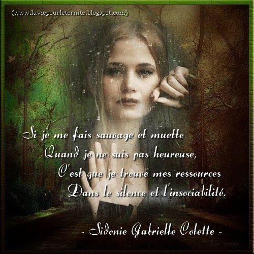 La vie pour l'éternité... : LES ATTITUDES SI JE ME FAIS SAUVAGE ET MUETTE .... http://laviepourleternite.blogspot.fr/p/attitudes.html