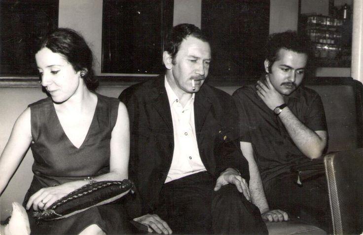 Tomris Uyar, Turgut Uyar, Selim Ileri