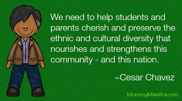 #CesarChavez Lesson Plans, Activities, Coloring Sheets and More