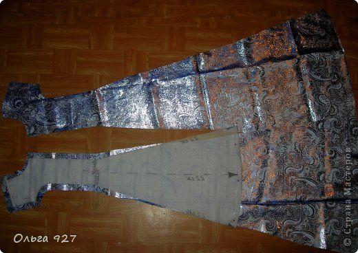 Гардероб Мастер-класс Выпускной Новый год Шитьё МК платья Ткань фото 12