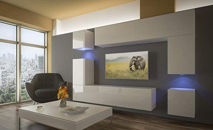 Home Direct PRAG N5, Modernes Wohnzimmer, Wohnwände, Wohnschränke